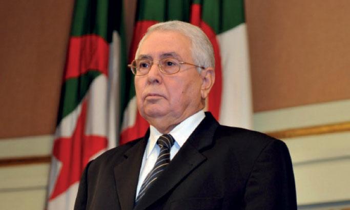Abdelkader Bensalah, Président  par intérim pour 3 mois