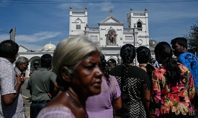Le Sri Lanka continue de traquer lundi les responsables de la vague d'attentats suicides qui a fait au moins 310 morts, dans l'île d'Asie du Sud. Ph : AFP