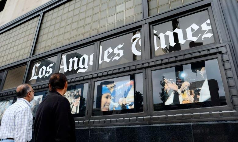 «Los Angeles Times» a remporté le prix dans la catégorie du journalisme d'investigation. Ph : DR