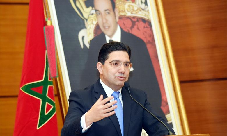 Nasser Bourita appelle l'Afrique du Sud à travailler avec le Maroc pour l'émergence d'un nouveau modèle de coopération interafricaine