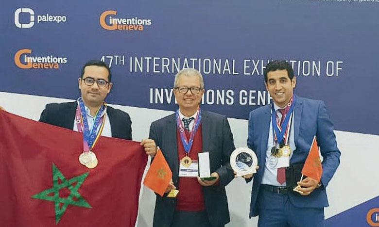 Les inventions «Smartrafic» et «Smart Factory 4.0» ont reçu deux  médailles lors du salon mondial des inventions.