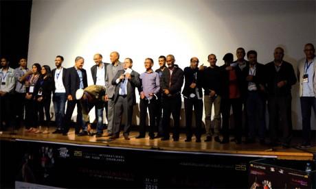 Clôture de la 25e édition du Festival  international d'art vidéo