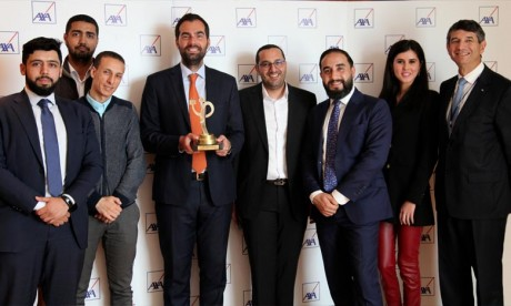 Création publicitaire: Axa Assurance Maroc récempensée