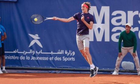 Zverev en quart de finale, le duel des champions remporté par Andujar