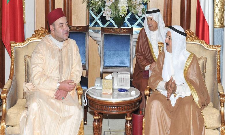 Message de S.M. le Roi Mohammed VI à l'Emir du Koweït