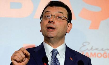 Le candidat de l'opposition en tête des communales à Istanbul
