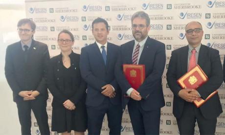 L'IRESEN et l'Université de Sherbrooke créent un écosystème de coopération scientique