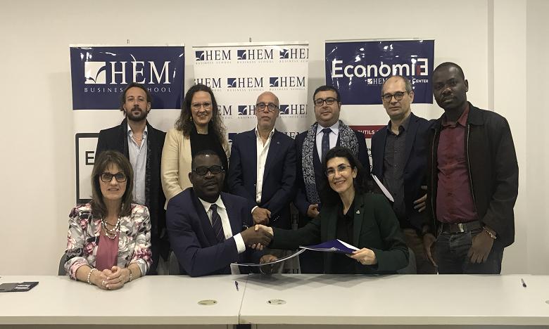 Un Mémorandum d'entente a été signé par les dirigeants des deux institutions, Yasmine Benamour et Fred Olayele en l'occurrence. Ph. DR