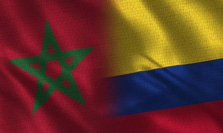Lancement d'un logo commémorant le 40e anniversaire des relations diplomatiques entre le Maroc et la Colombie