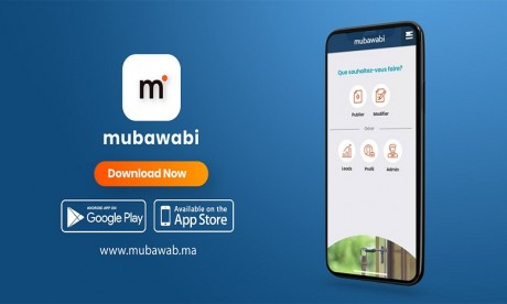 Mubawab lance son application mobile