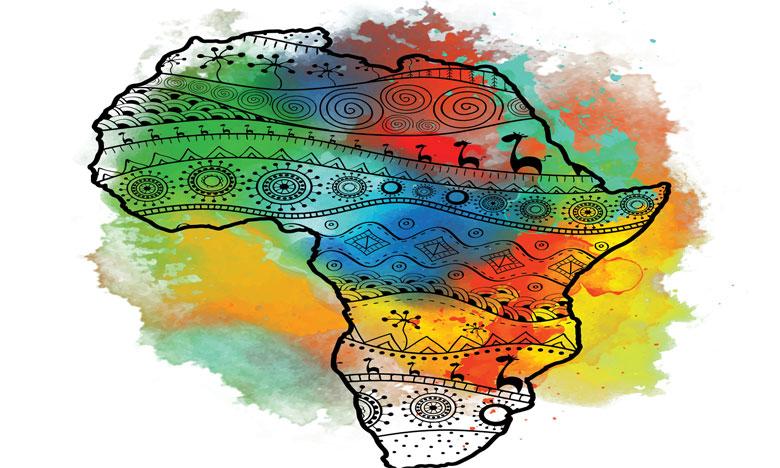 L'afrique brille sous mille couleurs à rabat