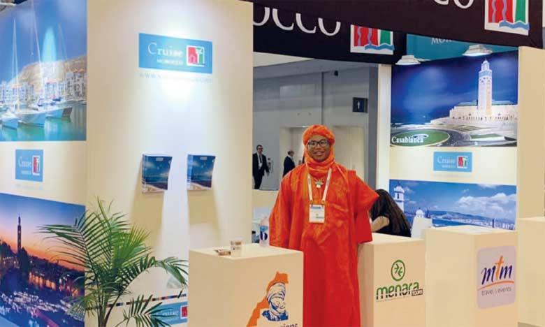 La délégation marocaine menée par l'ONMT est composée notamment des Conseils régionaux du tourisme de Casablanca, Tanger et Agadir, mais aussi de la Société de gestion du port de Tanger Ville.