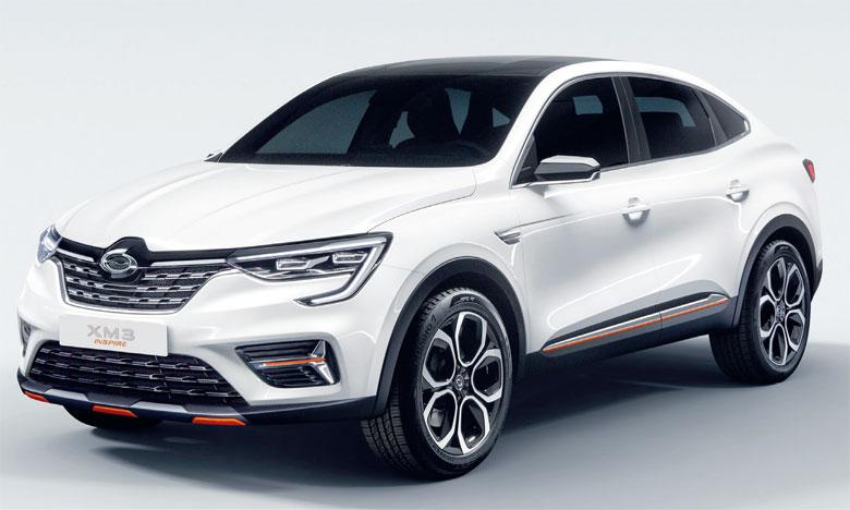 XM3 Inspire dévoile les lignes d'un futur véhicule mixant parfaitement les proportions sportives d'un SUV et l'élégance d'une berline.