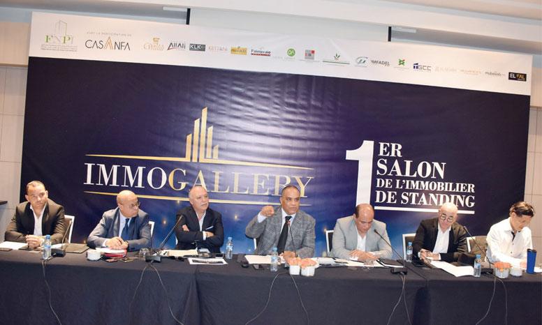 Immogalerry est organisé par la FNPI et entend devenir un rendez-vous annuel incontournable du secteur de l'immobilier. Ph. Sradni