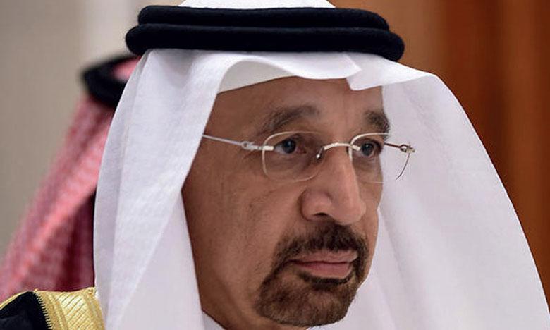 Le ministre saoudien de l'Énergie, Khalid  Al-Falih, a déclaré que les stocks mondiaux continuent d'augmenter.               Ph. DR
