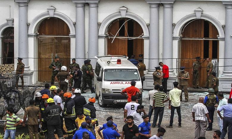 Le groupe Etat islamique revendique les attentats au Sri Lanka