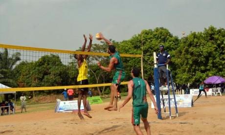 Beach-volley  : le Maroc sacré champion d'Afrique  à Abuja