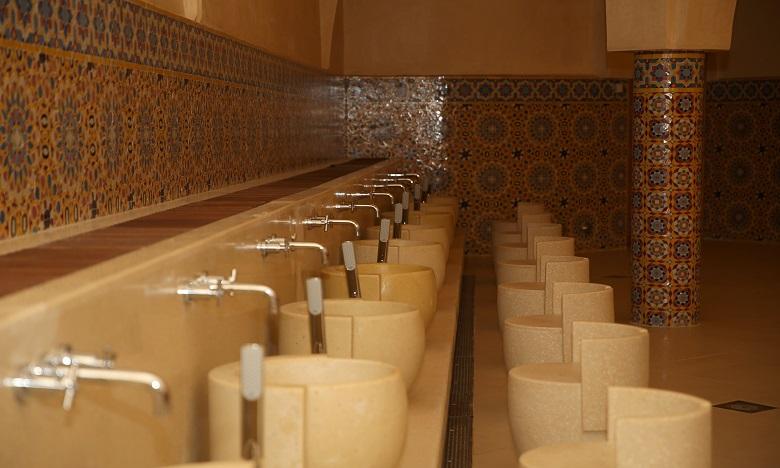 Les Hammams de la Mosquée Hassan II bientôt ouverts au public (photos)