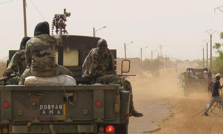 Au moins 10 militaires maliens tués dans  une attaque armée dans le centre