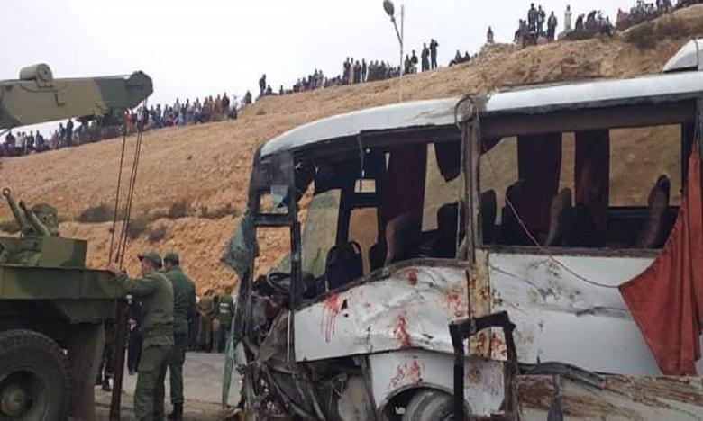 Agadir: des ouvriers victimes d'une nouvelle tragédie de la route