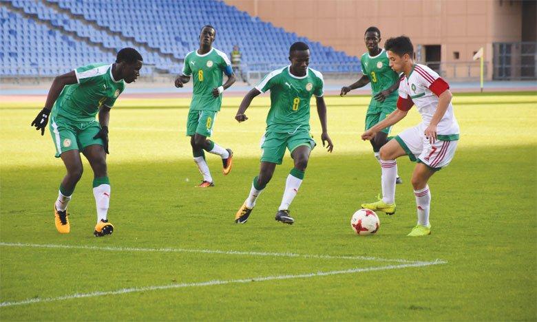 Le Maroc fait match nul (1-1) face au Sénégal