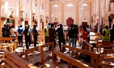 Explosions au Sri Lanka: treize suspects interpellés