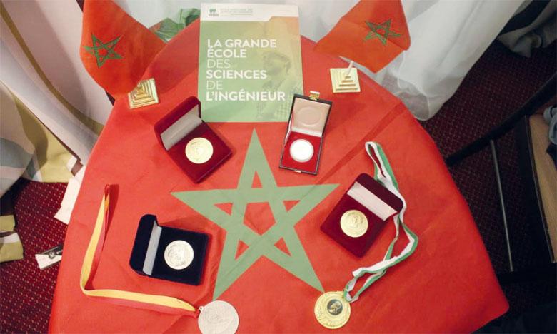 Trois médailles pour le Maroc lors de l'Archimède de Moscou