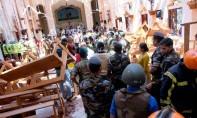 Des bombes ont visé des hôtels de luxe et des églises célébrant la messe de Pâques en plusieurs endroits de l'île d'Asie du Sud. Ph : AFP