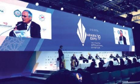 Ouverture de la 12e session  du Conseil d'affaires russo-arabe  avec la participation du Maroc