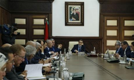 Réunion du Conseil de gouvernement sous la présidence du Chef du gouvernement, Saâd Eddine El Othmani.