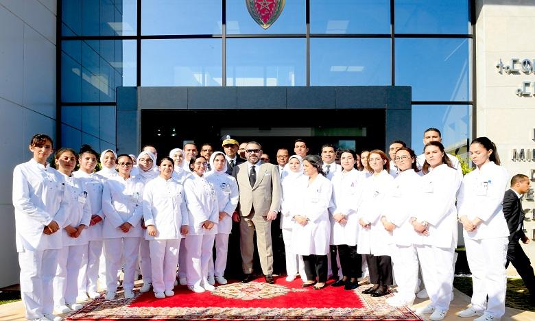 Le Souverain inaugure le Centre de radiologie et d'analyses médicales de la Sûreté nationale à Rabat