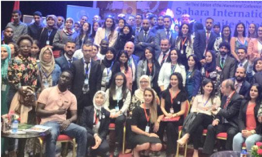 Clôture de la 3e conférence du «Sahara International Model United Nations»