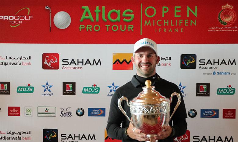 Grâce à sa victoire à Michlifen, l'Allemand Allen John se hisse en tête du classement de l'ordre du mérite du Pro Golf Tour allemand.
