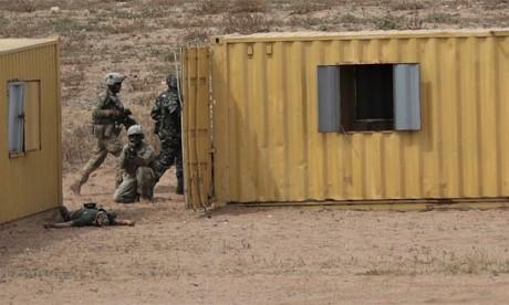 Exercice maroco-américano-britannique  pour renforcer les capacités en matière de lutte contre les organisations extrémistes violentes