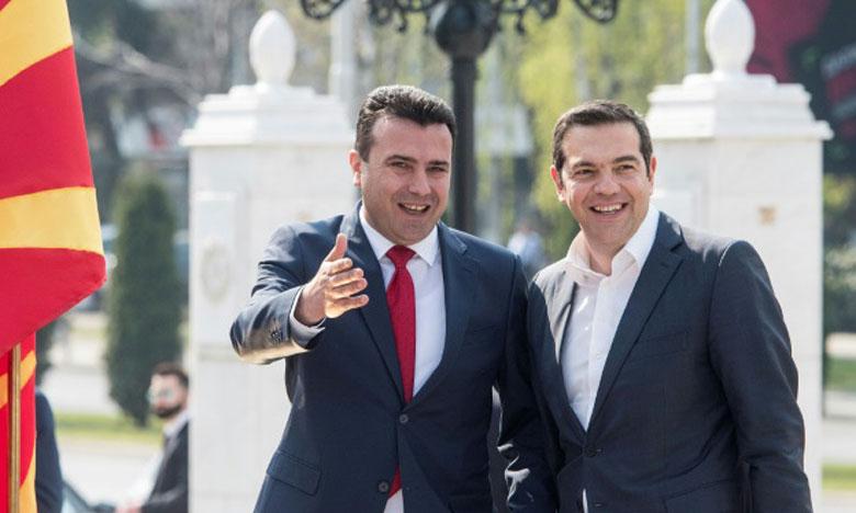 Visite historique du Premier ministre grec