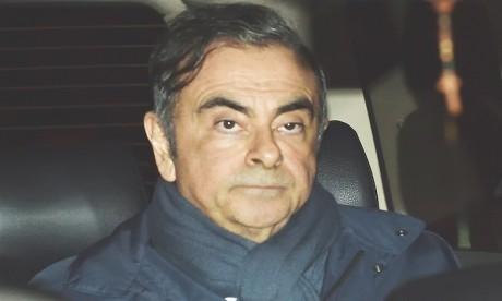 Carlos Ghosn avait déjà limogé de la présidence après son arrestation initiale en novembre. Ph. AFP