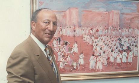 Hassan El Glaoui ou le peintre  de la modernité marocaine