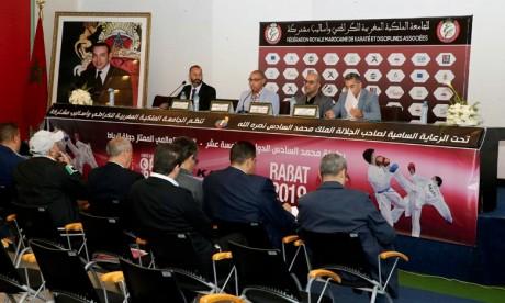 Des karatékas internationaux  à la 15e édition de la Coupe internationale Mohammed VI