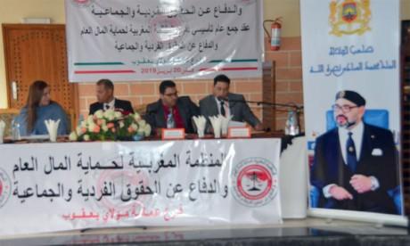 Création d'une section de l'Organisation marocaine de protection des deniers publics