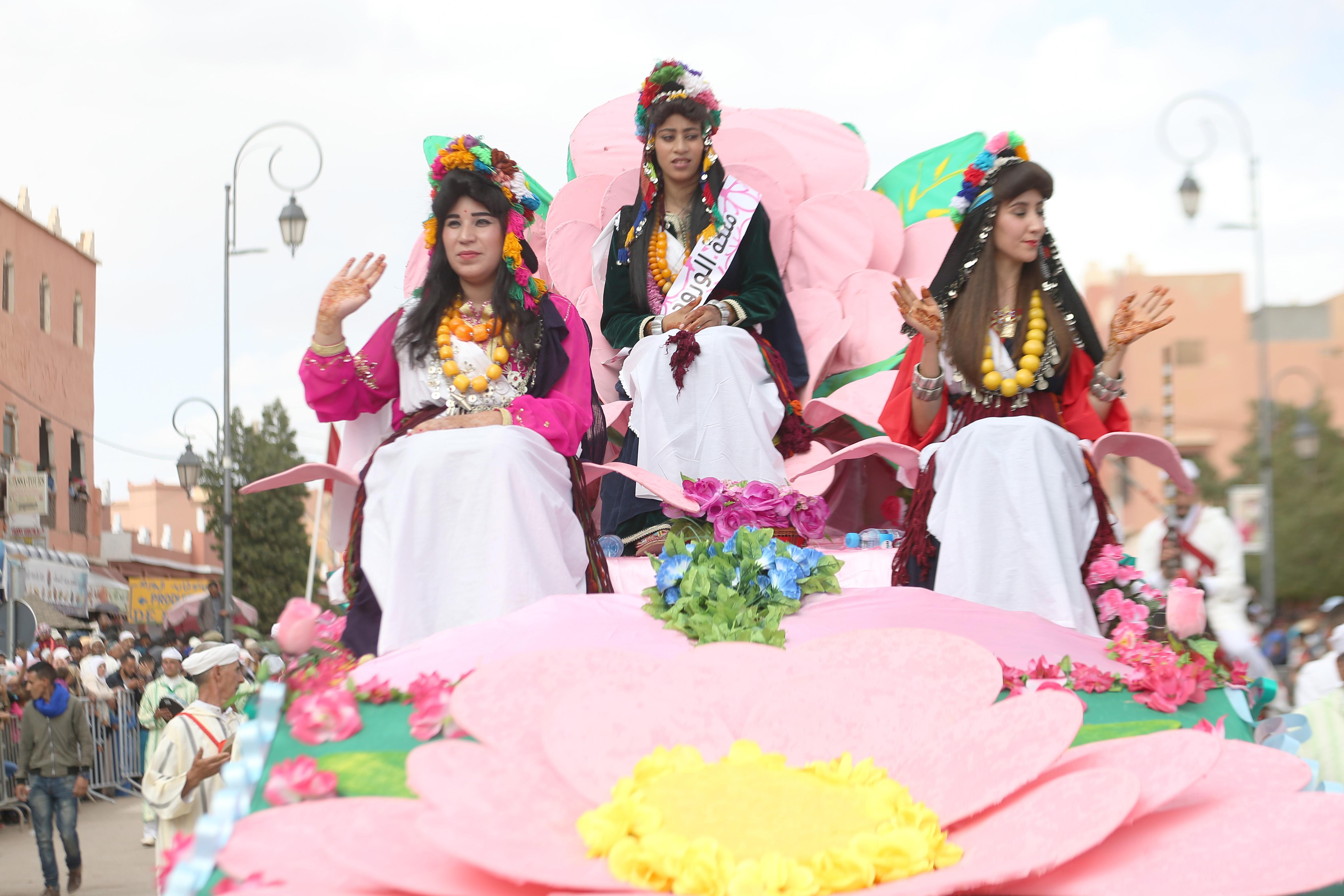 Kelaât M'Gouna : la Rose à parfum en fête