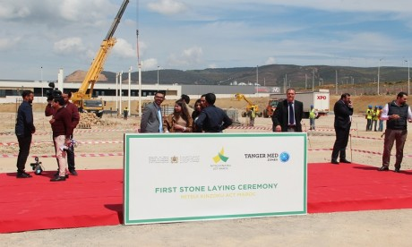 Mitsui Kinzoku Act s'installe à Tangier Automotive City