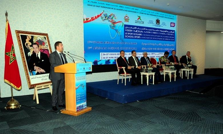 Tanger tient son 2e Forum africain consacré au sport scolaire
