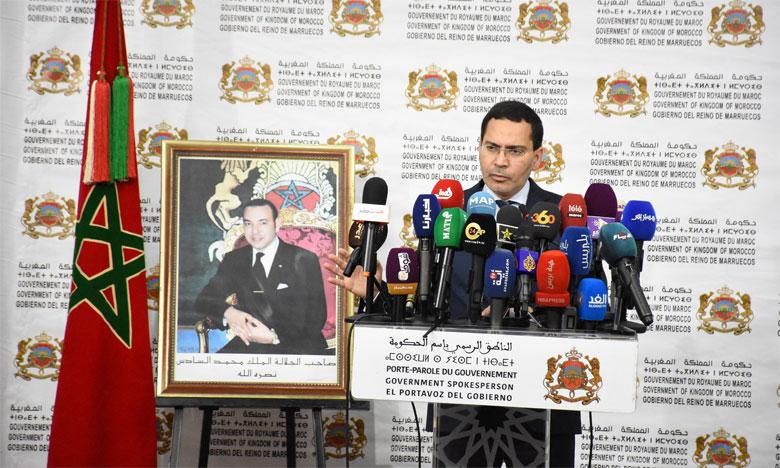 Mustapha El Khalfi, ministre chargé des Relations avec le Parlement et la société civile, porte-parole du gouvernement.