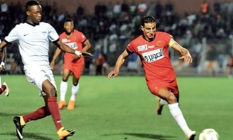 La RSB devra remonter un écart de 2 buts à Berkane face au CS Sfaxien