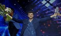 Duncan Laurence a devancé ses concurrents italien et russe pour apporter à son pays sa première victoire à l'Eurovision. Ph. AFP