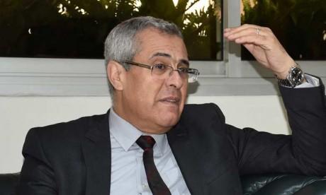 Moahmmed Benabdelkader fait le point sur l'avancement de l'élaboration des schémas directeurs référentiels