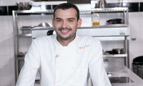 Samuel Albert, vainqueur de la 10e saison de Top Chef France