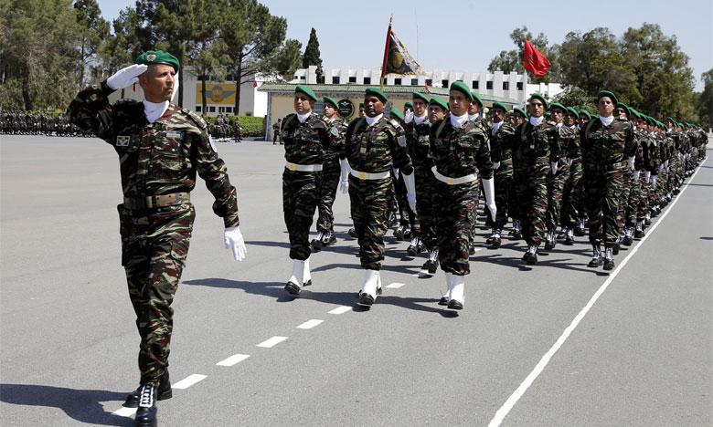 Célébration du 63e  anniversaire de la création  des Forces Armées Royales