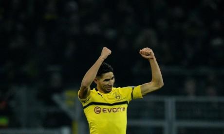 Achraf Hakimi reprend les entraînements avec Borussia Dortmund