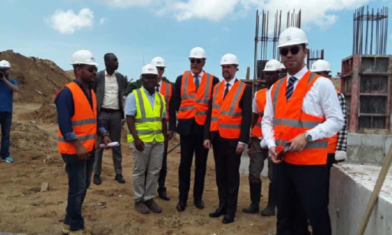 Mohcine Jazouli visite le chantier de la mosquée «Mohammed VI»